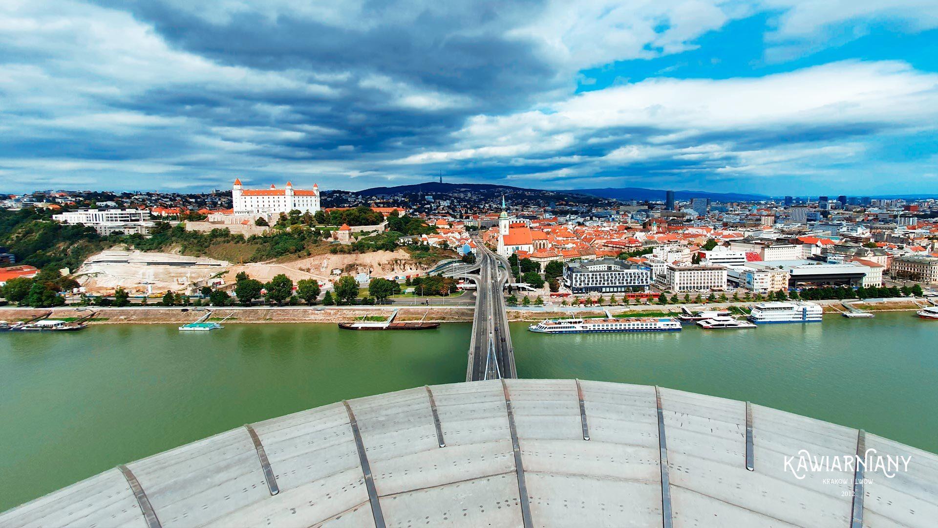 UFO Observation Deck – najlepszy taras widokowy w Bratysławie
