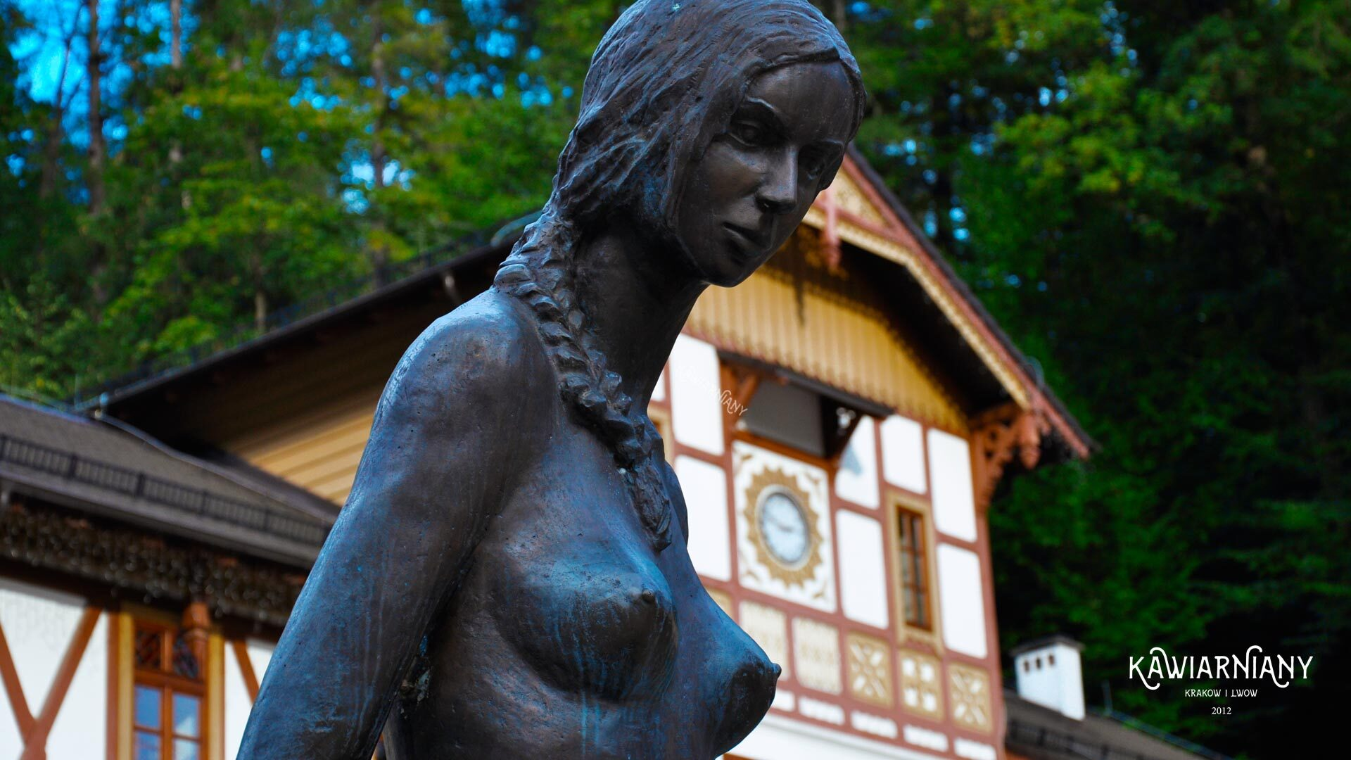 Kobieta z dzbanem – Fontanna w Szczawnicy. Historia i lokalizacja