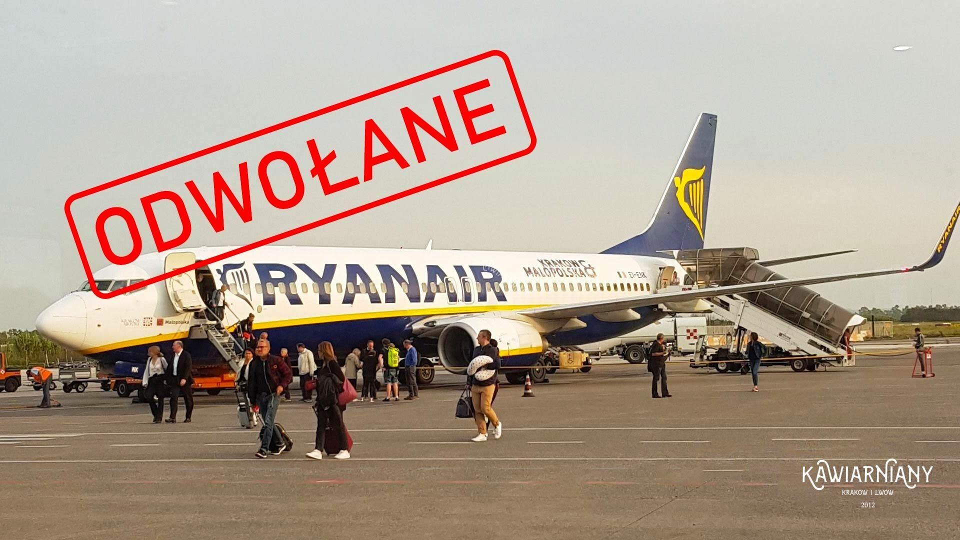 Ryanair ODWOŁAŁ loty do Lwowa z Polski. Kiedy wrócą loty do Lwowa?