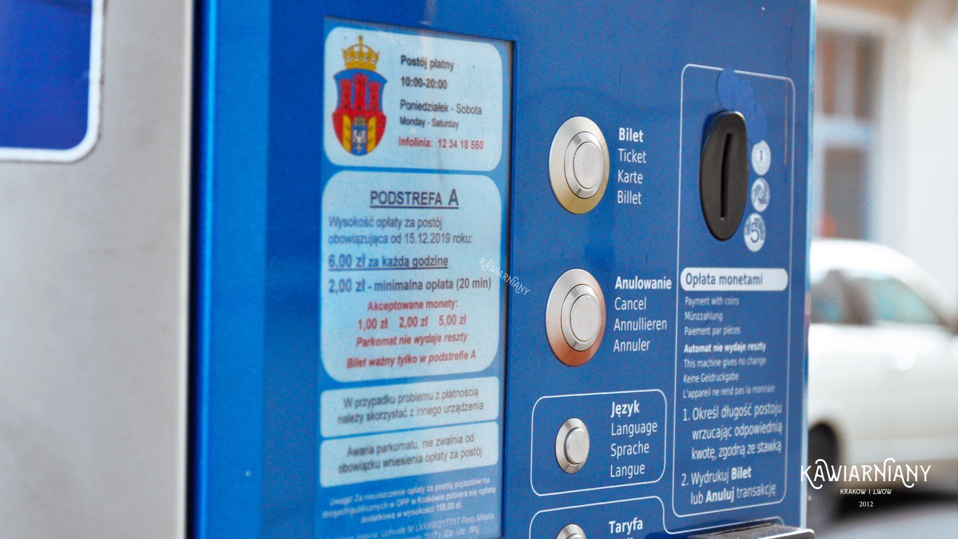 Czy w weekend majowy w Krakowie płatny parking? 2021!