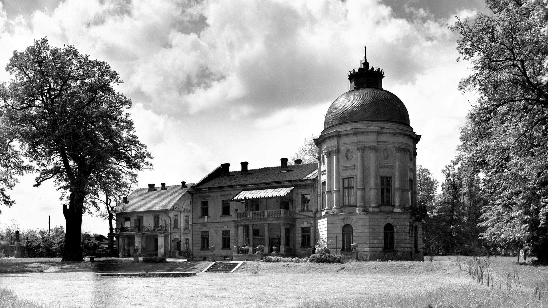 Tak wyglądał Park Jerzmanowskich i pałac w Prokocimiu