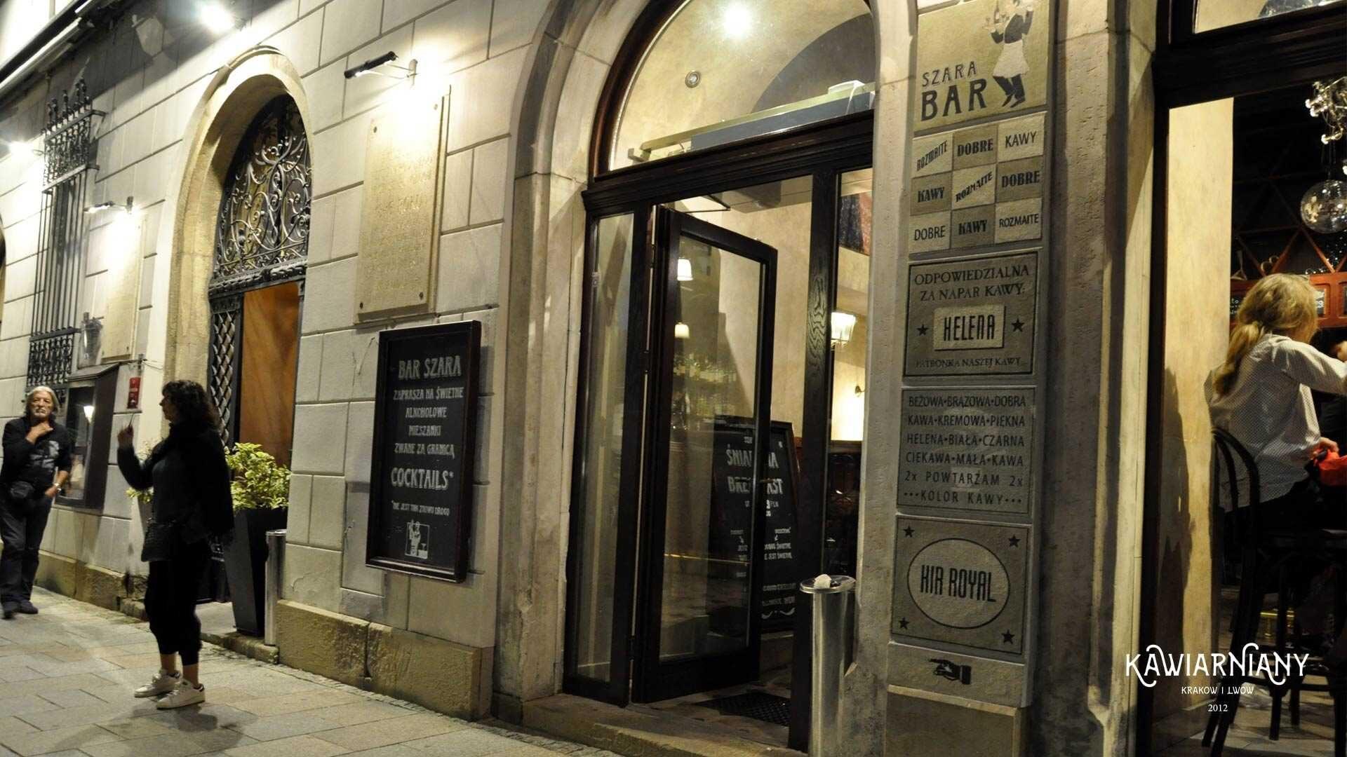 Restauracja Szara na Rynku w Krakowie – kultowa restauracja w kultowym miejscu